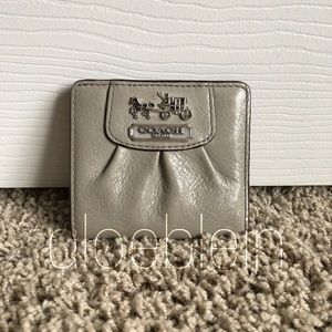 Coach Madison Small Leather Wallet 41972